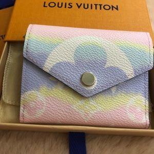 Louis Vuitton Escale Pastel Zoe Wallet